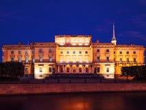 晚上圣彼德堡 空白的晚上 免版税图库摄影