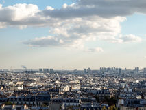 晚上在巴黎 库存照片