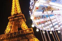 晚上在巴黎 免版税库存照片