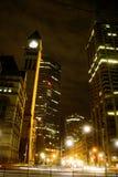 晚上多伦多 免版税库存照片