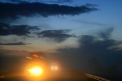 晚上天空 图库摄影