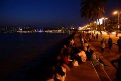 晚上孟买 库存图片