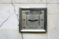 晚上安全墙壁 免版税库存图片