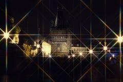 晚上布拉格 免版税图库摄影