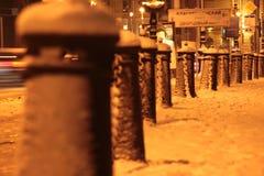 晚上彼得斯堡st 免版税图库摄影