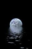 晚上水世界 图库摄影