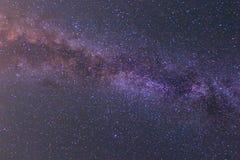 晚上满天星斗的天空背景 图库摄影