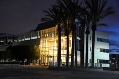 晚上硅谷 免版税库存照片