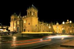 晚上秘鲁场面 库存图片