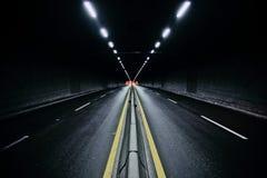 晚上街道时间 免版税库存图片