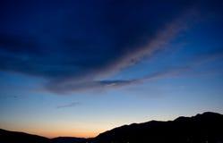 晚上颜色,蒂瓦特 库存照片