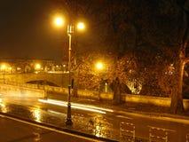 晚上s街道 库存图片