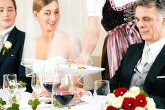 晚餐会婚礼 库存照片
