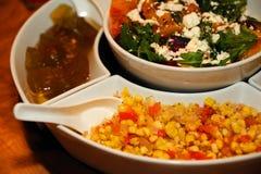 晚餐的开胃菜 免版税库存图片