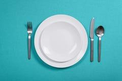 晚餐设置 免版税库存图片