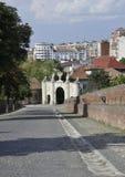 晨曲卡罗来纳州堡垒门Ist从阿尔巴尤利亚的在罗马尼亚 库存图片