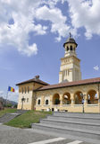 晨曲卡罗来纳州, 6月15日:从晨曲卡罗来纳州堡垒的加冕大教堂在罗马尼亚 免版税库存图片