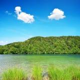 普利特维采湖群国家公园,克罗地亚 免版税库存图片
