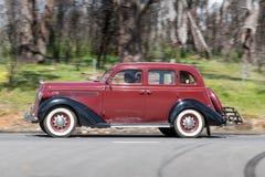1936年普利茅斯企业轿车 免版税库存照片