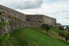 普利茅斯城堡,堡垒,德文郡,英国,2018年8月20日 免版税库存图片