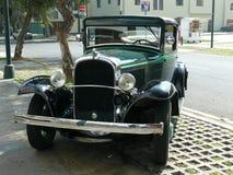 普利茅斯汽车模型PA 3长圆形窗口小轿车,利马 免版税图库摄影