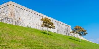 普利茅斯的皇家城堡 免版税库存图片