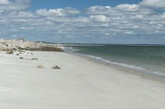 普利茅斯长滩,麻省,美国 免版税库存图片