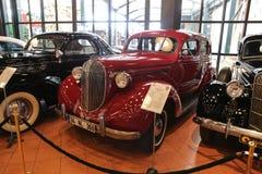 1938年普利茅斯P8轿车 库存照片