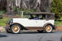 1928年普利茅斯Q游览车 免版税库存图片