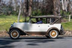 1928年普利茅斯Q游览车 免版税库存照片