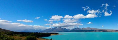 普卡基湖, NZ 免版税图库摄影