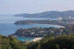 普吉岛三个海湾 库存照片