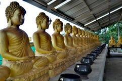 普吉岛大菩萨寺庙Buddhas 免版税库存图片