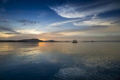 普吉岛泰国海scape 免版税图库摄影