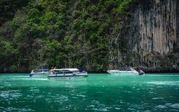 普吉岛海岛,泰国海景  免版税库存图片