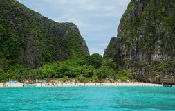 普吉岛海岛,泰国海景  图库摄影