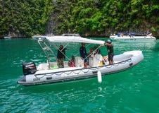 普吉岛海岛,泰国海景  免版税库存照片