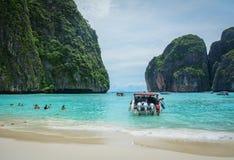 普吉岛海岛,泰国海景  免版税图库摄影