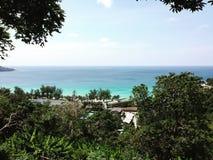 普吉岛海 免版税库存图片