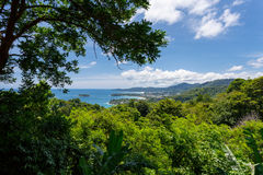 普吉岛视图 免版税库存图片