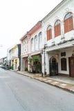 普吉岛,泰国- 2016年10月30日,普吉岛镇,泰国:普吉岛ol 免版税图库摄影