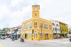 普吉岛,泰国- 2016年10月30日,普吉岛镇,泰国:普吉岛ol 库存图片