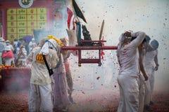 普吉岛素食节日2014年 免版税库存图片