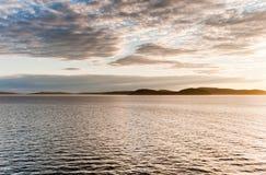 普吉特海湾 免版税库存图片