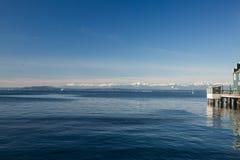 普吉特海湾 免版税图库摄影