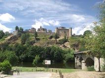 普埃夫拉德萨纳夫里亚,卡斯蒂利亚y Leà ³ n,西班牙,在欧洲南部 库存照片