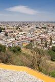 普埃布拉市视图,墨西哥 免版税图库摄影