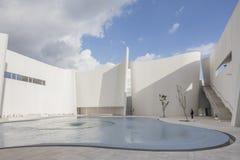 普埃布拉,墨西哥- 2016年8月29日, :巴洛克式的博物馆, Museo实习生 免版税库存图片