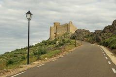 普埃布拉de阿尔科塞尔Castillo 05 库存图片