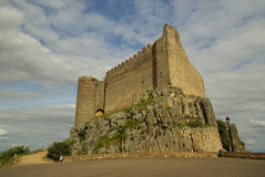 普埃布拉de阿尔科塞尔Castillo 库存图片